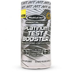 Muscletech Platinum Test Booster  60 kaps. Testosteron